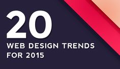Are you considering a website redesign in 2015? Do you want to know what trends will be rocking the scene in the year to come? We were recently contacted by The Founders Grid to participate in a su...