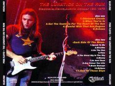 Pink Floyd - The Lunatics On The Run (Live Vienna, Austria - October 13th, 1973) Full Bootleg