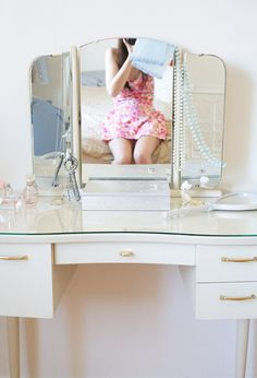 Vanity table, I have always wanted one