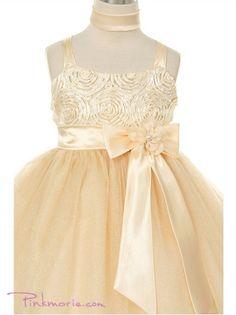 Princess Satin and Tulle Flower Girl Dress @Jenn L Siranosian