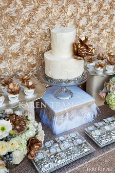 Exquisite dessert table decor | San Diego Wedding Blog