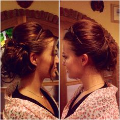 Hairstyle for a classy dinner w/ the family