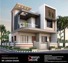 juamkili - 0 results for design Modern Bungalow Exterior, Modern Exterior House Designs, Best Modern House Design, Modern Villa Design, Latest House Designs, Bungalow House Design, House Outer Design, House Front Design, Small House Design