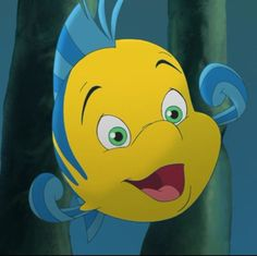 I am Flounder! Which Little Mermaid Character Are You?