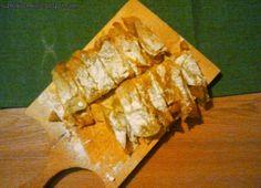 LUŹNA KUCHNIA: Chrupiące Słodkie Cygaretki