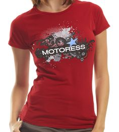 MOTORESS Online Shop - Retro Red Bamboo T-Shirt, $33.00 (http://www.shopmotoress.com/retro-red-bamboo-t-shirt/)