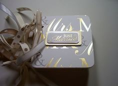 Wedding Premade Mini Album Scrapbook Wedding by HampshireRose, $25.00