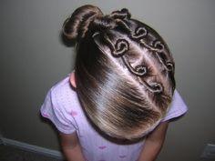 """Cursive Hairstyle"""
