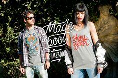 Ohmyboot Clothing - Lookbook 2015 - Nivola Tshirt & OMB Tank top