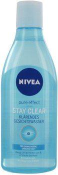 Nivea Pure Effect Stay Clear Klärendes Gesichtswasser 200 ml 3,50€
