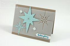 Stampin' Up, Weihnachtsstern, Weihnachtskarte