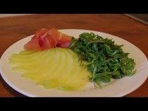 Recette melon, jambon de parme | Une entrée simple et rapide