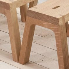 The 10º Step Stool is an absolutely gorgeous, sustainable, handcrafted piece from nascent furniture outfit The Office for Lost Objects.