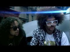 LMFAO - party rock anthem. guy with the box robot head is my favorite