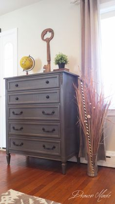 Draven Made: Bronzed Grey Dresser