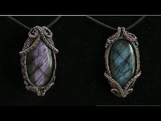 Wire Wrapping Tutorials! Check out some wire wrapped jewelry for sale…