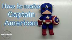 CAPTAIN AMERICA HOW TO MAKE CAPTAIN AMERICA / KAPTEN AMERIKA CARA MEMBUA...