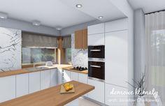Projekt domu Bagatela 86.30 m² - Domowe Klimaty 20 M2, Facade, House Plans, Sweet Home, How To Plan, Table, Furniture, Home Decor, Decoration Home