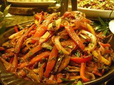 real food tulsa: Raw Marinated Vegetable Salad
