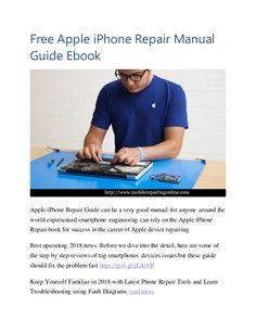 19 best phone repairing manual pdf free download images on pinterest