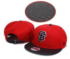 fd78da2c27c MLB Snapback Hats san francisco giants Red 3986! Only  8.90USD Wholesale  Hats