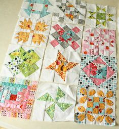 Flea Market Fancy Fat Quarter Bundle Giveaway. Flea Market Fancy is the name of the fabric line used in these hand pieced quilt squares. Enter for your chance to win this bundle of beautiful fabrics.