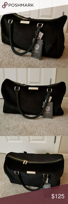 Vince Camuto Lullah 22 inch duffle Brand new gorgeous weekend duffle.velvety material. It is 22 inches wide. Vince Camuto Bags Travel Bags