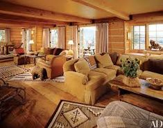 Whether you prefer the classic rustic cabin look or you're wanting to create a space with a more modern air, here are 27 beautiful log cabin interior design ideas to consider. Log Cabin Living, Log Cabin Homes, Living At Home, Log Cabins, Architectural Digest, Home Decor Bedroom, Living Room Decor, Cabin Interior Design, Interior Ideas