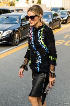 Olivia Palermo Milan Fashion Week SS17