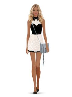Styled with: Rachel Zoe, Lulu In Chains, Rebecca Minkoff   Create your own look with Covet Fashion