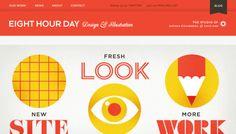 Eight Hour Day - Portfolio website