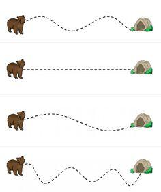 медведь впадает в спячку Art Activities For Toddlers, Preschool Learning Activities, Preschool Classroom, Preschool Worksheets, Writing Activities, Preschool Crafts, Kindergarten, Bear Theme Preschool, The Very Cranky Bear