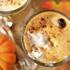 Easy Pumpkin Spice Latte 3 Ways. Save money and calories by making your own Pumpkin Spice Latte at home in 5 minutes or less! Fall Dessert Recipes, Gluten Free Recipes For Dinner, Fall Desserts, Fall Recipes, Homemade Pumpkin Spice Latte, Pumpkin Pie Spice, Pumpkin Bars, All You Need Is, Power Salat