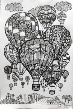 27 Creative Image of Doodle Art Coloring Pages . Doodle Art Coloring Pages Doodle Art Coloring Pages Hot Air Balloons Doodle Art Doodle And Doodle Art Drawing, Zentangle Drawings, Mandala Drawing, Art Drawings Sketches, Mandala Sketch, Drawing Ideas, Doodles Zentangles, Tattoo Sketches, Doodle Wall