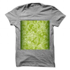 SEAMLESS GREEN FLORAL BACKGROUND T-SHIRTS, HOODIES, SWEATSHIRT (19$ ==► Shopping Now)