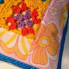 Patchwork and crochet