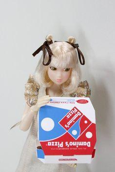 sugisanmini @sugisanminimini 3月23日  「美味しそー♪一緒に食べない?」  #momokoph