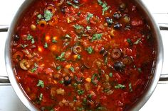 The national soup of Morocco, this Harira recipe is a total flavor explosion. It's no wonder it's such a popular soup, it will WOW your taste buds! Cooking Garbanzo Beans, Cooking Dried Beans, Moraccan Recipes, Harira Recipe, Tagine Cooking, Cooking Wild Rice, Cooking Corn, Lentil Soup Recipes, Chickpea Recipes