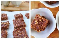 #Almond #Chocolate #Rice Krispie Squares: #vegan #recipe if you use brown rice syrup.