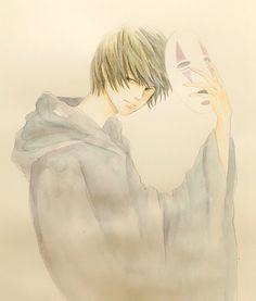 カオナシになった月さん http://blogs.yahoo.co.jp/ogino_toratora22_milkyway