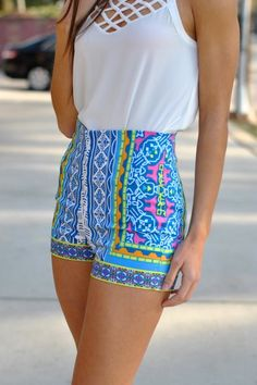 I WANT THIS OUTFIT! Dancing on Duval Shorts - $34.50