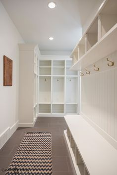 Mud Room by Cameo Homes Inc. in Utah.