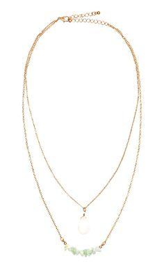 H&M Golden Delicate Necklace