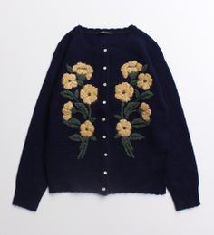 adorable embroidered cardigan