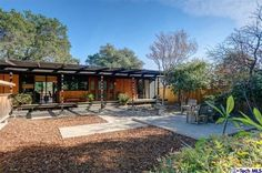 Hitting the market for the first time in a decade is this spiffy Mid-Century Modern located just north of Millard's Canyon in...