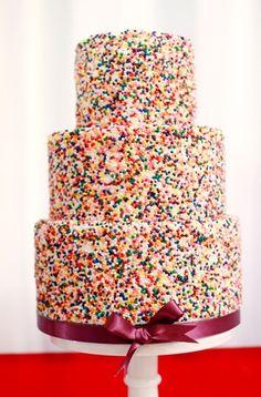Sprinkles cake ♥