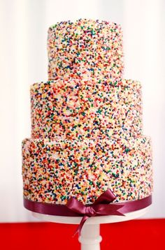 sprinkles cake! for natalie <3