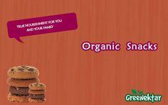 #Organic Snacks#