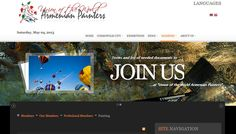 Website creation for the Union of the World Armenian Painters - 2010 - Armania