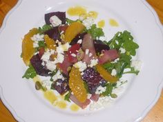 Roasted Beet, Orange, & Goat Cheese Salad recipe from Food52